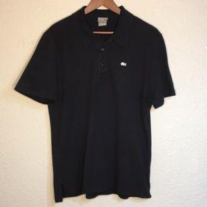 Lacoste Men's black polo shirt size 6 US large
